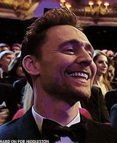 Tom Hiddleston at BAFTA TV Awards 2016. Gif-set (by hard-on-for-hiddleston): http://maryxglz.tumblr.com/post/152912899707
