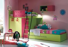 Cool and Elegant Kids Room Decor Ideas by KIBUC  (14)