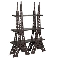 Eiffel Tower 10 Opening Collage Frame Bronze Finish