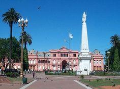 Casa Rosada, Sede del Gobierno Nacional. Ciudad Autónoma de Buenos Aires, Argentina.