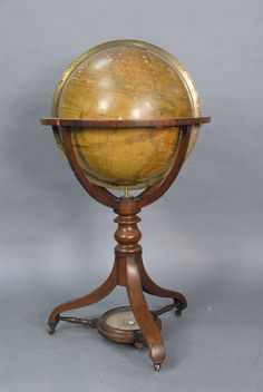 A Malby's Terrestrial Globe on mahogany stand - Realized Price: $14,950.00