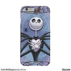 Jack Skellington Funda De iPhone 6 Barely There #carcasas #cases #gifts