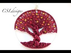 Amazing Tree of Life Jewelry Designs by CSL Designs ~ The Beading Gem's Journal