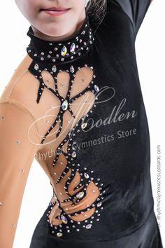 Léotard 152: Gymnastique rythmique Léotard Robe de par Modlen