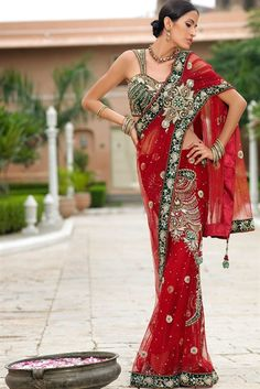 This is so gorgeous!  I think Western designers need to start incorporating draping and Indian designs into our clothing!