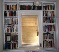 Around the window shelving would be ideal for the kids' rooms!!!