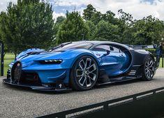 Bugatti Chiron & Vision Gran Turismo Head To Monterey Car Week 2016 Luxury Sports Cars, Top Luxury Cars, Exotic Sports Cars, Cool Sports Cars, Exotic Cars, Sport Cars, Cool Cars, Bugatti Veyron, Bugatti Auto
