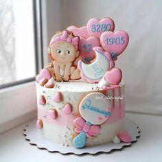 ideas cupcakes decoration bautizo babyshower for 2019 Baby Shower Cake Decorations, Baby Shower Cupcakes For Girls, Baby Shower Cookies, Fondant Cupcakes, Cupcake Cakes, Cupcake Ideas, Amazing Cakes, Beautiful Cakes, Baby Girl Cakes