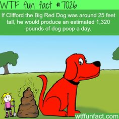 Clifford the Big Red Dog - WTF fun facts