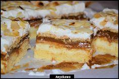 Anyżkowo: Genialna krówka - Ciasto krówka