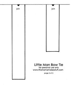 Bow Ties   Step-by-Step   DIY Craft How To's and