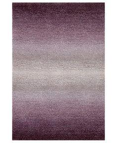 Liora Manne Area Rug, Ombre 9663/49 Horizon Purple 2'3 x 8' Runner Rug - Modern Rugs - Rugs - Macy's
