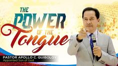 "This message ""The Power of the Tongue"" by Pastor Apollo C. Quiboloy will wake up humanity. Each one of us is accounted of every word we say. Watch and be blessed with this very powerful message of the Son. Spiritual Enlightenment, Spirituality, Power Of The Tongue, Revelation 21, Breaking News Today, Great Leaders, Son Of God, Apollo, Worship"