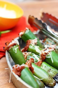 Grilling Summertime Appetizer, Pulled Pork Stuffed Jalapenos with Queso cheese!