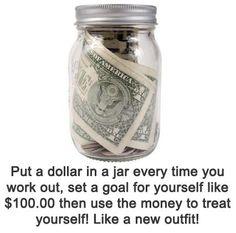 Love this motivational idea!