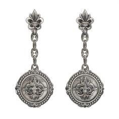 Scott Kay Sterling Dangle Earrings E2814SPS