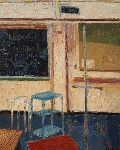 "John Kline: Painting Studio, 16"" x 20"""