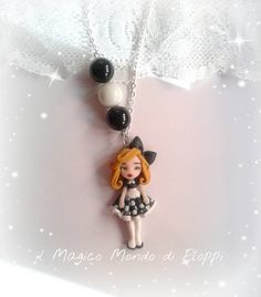 Collana Alice in Wonderland fimo,polymer clay