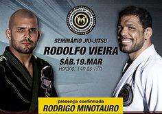 Rodolfo Vieira ministra seminário no Team Nogueira SP Zona Sul neste sábado