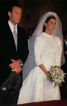The Wedding of Kyril, Prince of Preslav to Dona María del Rosario Nadal in 1989.
