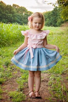 Kaitlynn Dress and Romper – Violette Field Threads Baby Girl Dress Patterns, Cute Girl Outfits, Little Girl Dresses, Baby Dress, Kids Outfits, Girls Dresses, Baby Girl Fashion, Kids Fashion, Little Girl Pictures