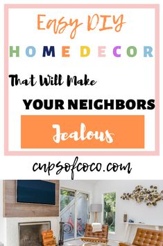 Easy DIY Home Decor Cheap DIY Home Improvement  #easydiy #homeimprovement #homereno #cheapdiy
