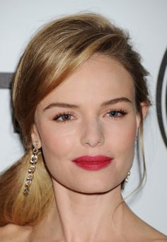 Kate Bosworth wearing Chanel Rouge Allure Velvet ($34) in La Malicieuse