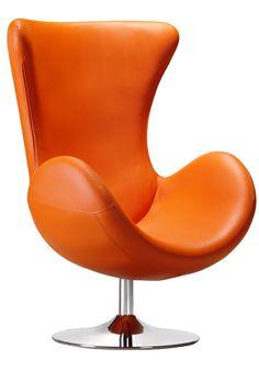 House of Honey Orange Furniture, Home Furniture, Orange Things, Orange Aesthetic, Orange Fashion, Orange Is The New Black, Retro Design, Swivel Chair, Recliners