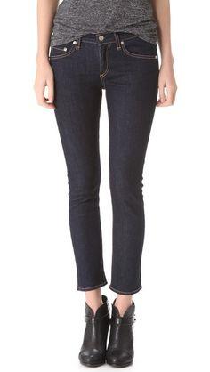 Rag & Bone/JEAN Capri Jeans. Maybe with those denim wedges.