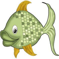Animal Doodles, Cartoon Fish, Water Animals, Baby Clip Art, Under The Sea Party, Animal Sketches, Fish Design, Am Meer, Stencil Art