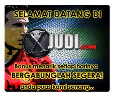 http://www.xjudi.com adalah Situs Agen Bola Terpercaya , Agen Taruhan Bola dan Agen Piala Dunia yang melayani pembuatan akun di situs judi bola seperti Sbobet.
