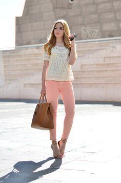 [Mango top + Zara jeans] [Zara shoes] [Prada bag] // 6 May 2013