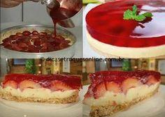 Ingredientes para a massa 300 g de bolacha maria ou de maisena 2 colheres (sopa) de margarina 6 colheres (sopa) de leite Ingredientes para o creme 1 copo de leite