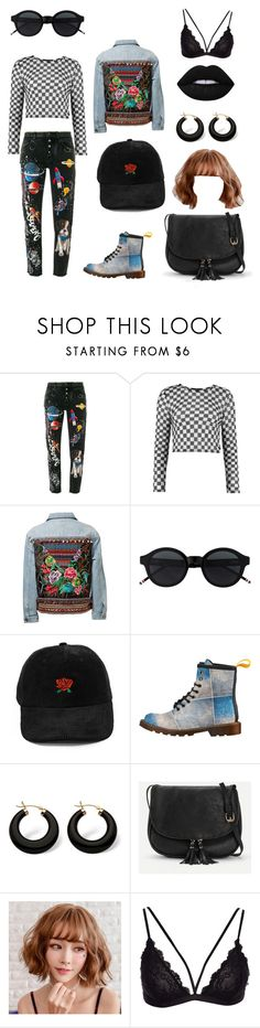 """""""Untitled #4"""" by ainsleyjane ❤ liked on Polyvore featuring Dolce&Gabbana and Palm Beach Jewelry"""