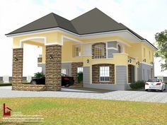 1 new message House Plans Mansion, Sims House Plans, Duplex House Plans, Bungalow House Plans, 5 Bedroom House Plans, Single Storey House Plans, One Storey House, 2 Storey House Design, Bungalow House Design