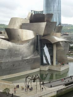 Scrumpdillyicious: Frank Gehry's Iconic Bilbao Guggenheim Museum