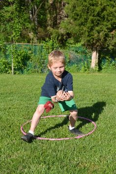Fun game to play when teaching your kinders how to throw & catch. Check it out! Come Together Kids: Hula Blockers