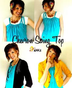 Chevron Swing top - sewing tutorial