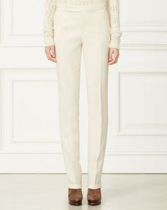 McKayla Wool Pant - Collection Apparel Pants - RalphLauren.com