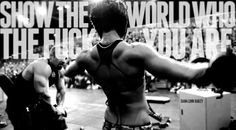 "DLB!! ""show the world, WHO THE FUCK YOU ARE!"""