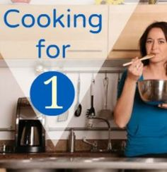 Practical Cooking & Grocery Shopping Tips for Singles: Learn how to adapt your recipes, score deals and prevent food from going to waste in a single household. | via @SparkPeople #cooking