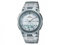 Relógio Masculino Casio Mundial AW-80D-7AVDF - Analógico e Digital Resistente á Água