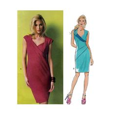 Butterick B5921 Women's Maggy London Dress Sewing Pattern, Sweetheart Neckline, Sleeveless or Short Cap Sleeves, Size 8-10-12-14-16