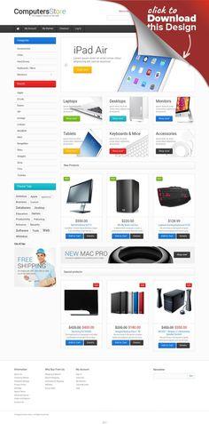 Responsives Magento Theme für Computergeschäft E-commerce Vorlagen, Magento Vorlagen, Computers und Internet   Magento Theme #47676 für Computergeschäft . Dabei gibt es Zusatzfunktionen, Stockfotos und eine umfassende Dokumentation.