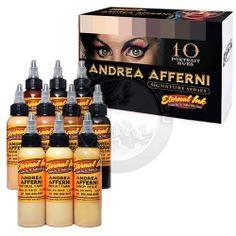 Eternal Ink Andrea Afferni Signature Series set - Tattoo supplies since 1999