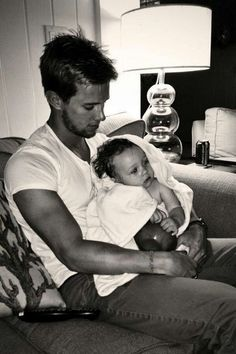 Drew Van Acker WITH A BABY LORD HELP ME