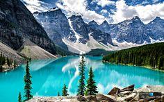 World's Famous Moraine Lake is Canada's Treasured Terrain in Alberta's Banff National Park   The Pinnacle List