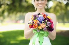 "I loved everything about this wedding! This was from an ""Up!"" inspired wedding. I seriously wanted to post all the pictures! But I LOVED this bouquet so much."