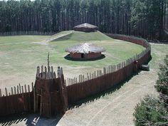 Town Creek Indian Mound; Mount Gilead, Montgomery County, NC school field trip every single year.