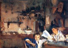 John Singer Sargent_ Venetian Interior, 1903